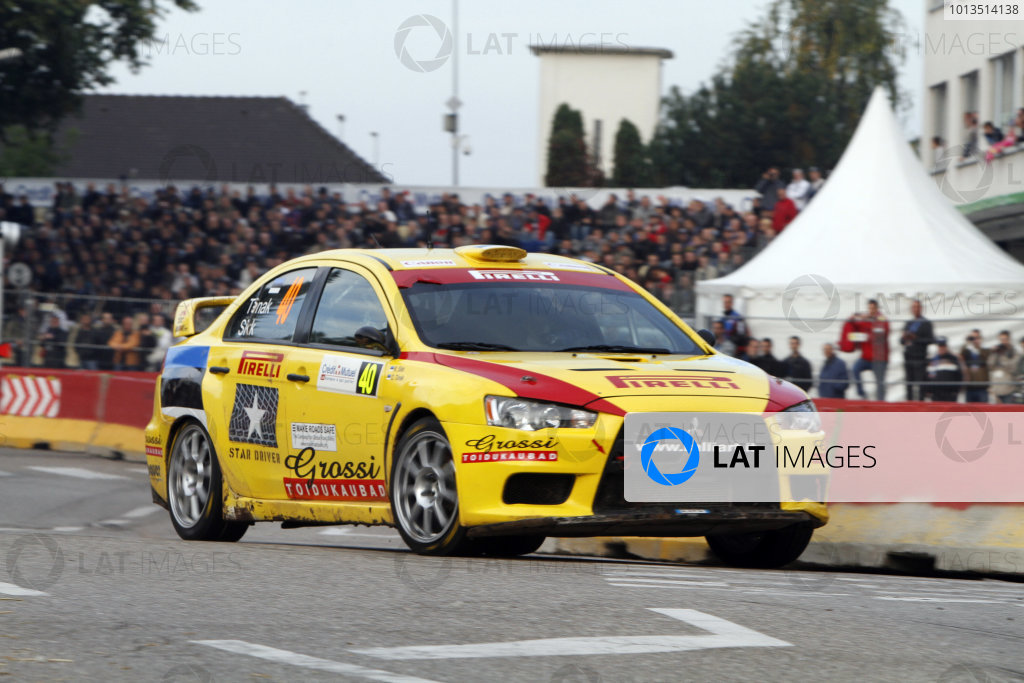 Round 11Rally de France 30/9-3/10Ott Tanak, Mitsubishi PWRC, Action.Worldwide Copyright: McKlein/LAT