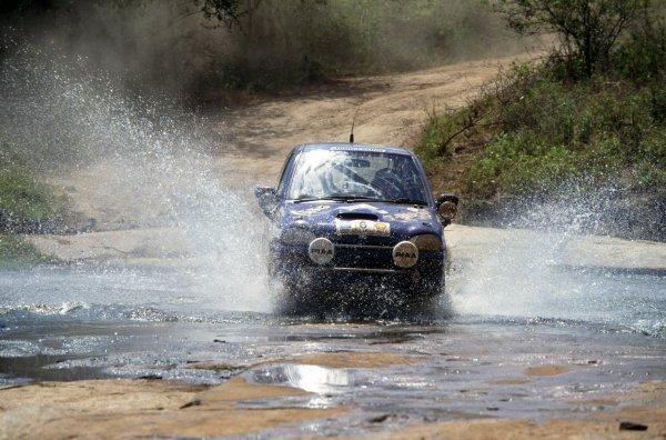 1993 World Rally Championship.Safari Rally, Kenya. 8-12 April 1993.Colin McRae/Derek Ringer (Subaru Vivio Sedan), retired.World Copyright: LAT PhotographicRef: 35mm transparency 93RALLY16