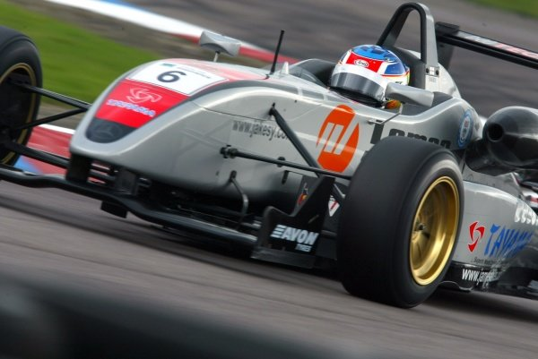James Jakes (GBR) Hitech Racing British Formula Three, Thruxton, England.23rd September 2006DIGITAL IMAGE