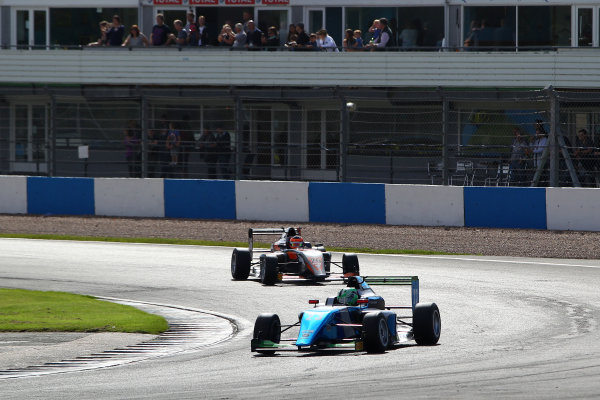 2016 BRDC F3 Championship, Donington Park, Leicestershire. 10th - 11th September 2016. Thomas Maxwell (AUS) Sean Walkinshaw Racing BRDC F3. World Copyright: Ebrey / LAT Photographic.