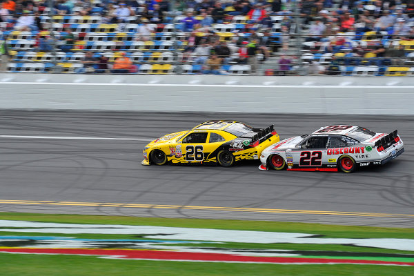 20-21 February, 2015, Daytona Beach, Florida USA Mike Wallace, Brad Keselowski ?2015, Jennifer Coleman LAT Photo USA