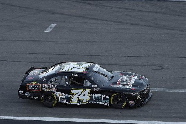 #74: Bayley Currey, Mike Harmon Racing, Chevrolet Camaro Covert Scouting Cameras