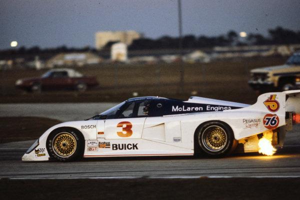 Bobby Allison / Wayne Pickering / Ken Madren, Pegasus Racing, March 84G Buick.