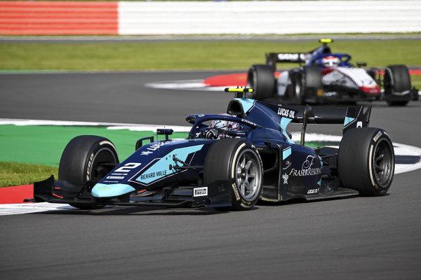 Dan Ticktum (GBR, DAMS), leads Pedro Piquet (BRA, CHAROUZ RACING SYSTEM)