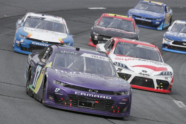 #17: J.J. Yeley, SS Green Light Racing, Chevrolet Camaro Nurtec ODT, #26: Brandon Gdovic, Sam Hunt Racing, Toyota Supra SnapMobile.com