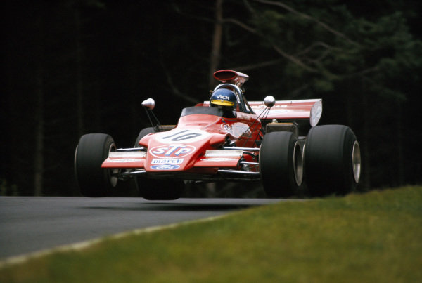 Ronnie Peterson, March 721G Ford.