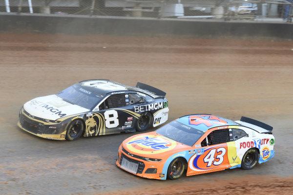 #43: Erik Jones, Richard Petty Motorsports, Chevrolet Camaro Tide/Food City, #8: Tyler Reddick, Richard Childress Racing, Chevrolet Camaro NASCAR Trucks at Knoxville