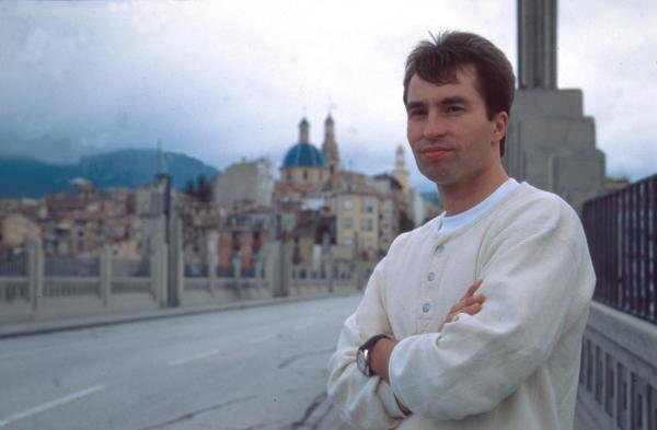 Heinz-Harald Frentzen at home in Monte Carlo.