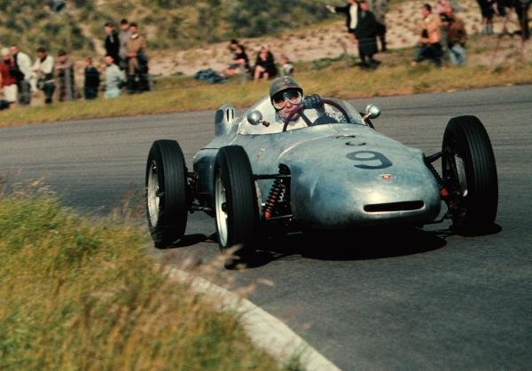 Hans Herrmann(GER) Porsche 718, finished in 15th place