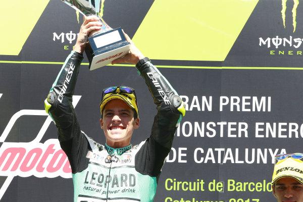 2017 Moto3 Championship - Round 7 Circuit de Catalunya, Barcelona, SpainSunday 11 June 2017 Joan Mir, Leopard Racing World Copyright: Gold & Goose Photography/LAT Images ref: Digital Image 677014