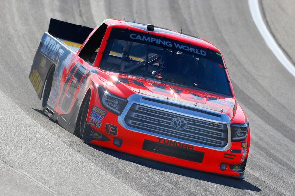 NASCAR Camping World Truck Series Las Vegas 350 Las Vegas Motor Speedway, Las Vegas, NV USA Saturday 30 September 2017 Cody Coughlin, Ride TV/ Jegs Toyota Tundra World Copyright: Russell LaBounty LAT Images