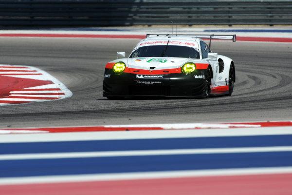 2017 FIA World Endurance Championship, COTA, Austin, Texas, USA. 14th-16th September 2017, #92 Porsche GT Team Porsche 911 RSR: Michael Christensen, Kevin Estre  World Copyright. May/JEP/LAT Images