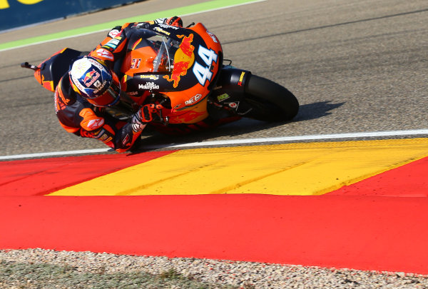 2017 Moto2 Championship - Round 14 Aragon, Spain. Saturday 23 September 2017 Miguel Oliveira, Red Bull KTM Ajo World Copyright: Gold and Goose / LAT Images ref: Digital Image 694249