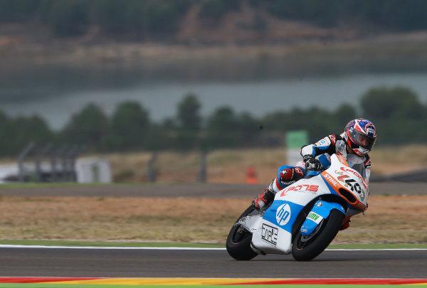 2017 Moto2 Championship - Round 14 Aragon, Spain. Friday 22 September 2017 Fabio Quartararo, Pons HP 40 World Copyright: Gold and Goose / LAT Images ref: Digital Image 693850