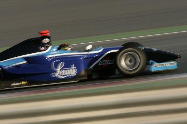 2008 GP2 Asia Series. Testing.Dubai. Dubai Autodrome. 20th January.Marcello Puglisi (ITA, Piquet Sports). Action. World Copyright: Alastair Staley/GP2 Series Media Serviceref: _MG_2186
