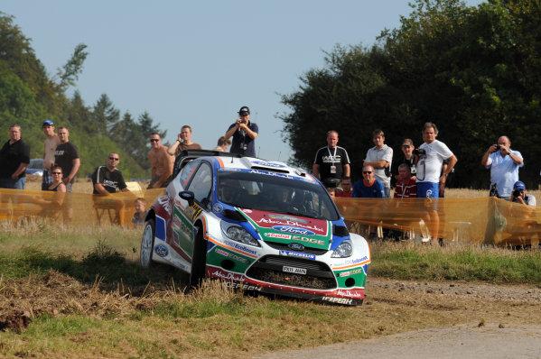 Round 09 - Rally Deutschland 18-21 August 2011.Mikko Hirvonen, Ford WRC, Action.Worldwide Copyright: McKlein/LAT