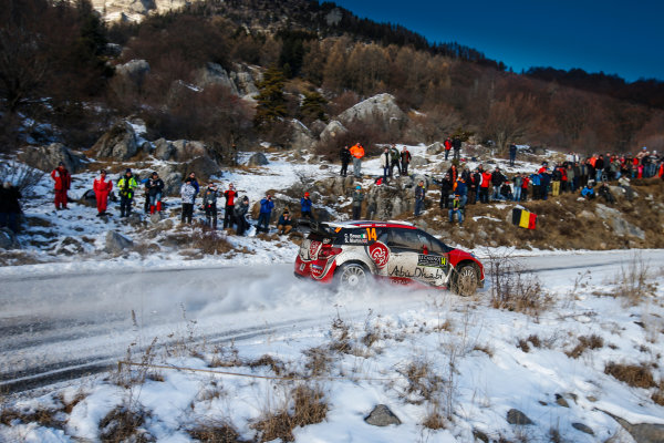 2017 FIA World Rally Championship, Round 01, Rally Monte Carlo, January 18-22, 2017, Craig Green, Citroen, Action, Worldwide Copyright: McKlein/LAT