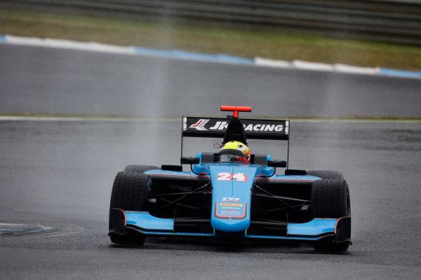 2017 GP3 Series Testing Estoril, Portugal. Wednesday 22 March 2017 Arjun Maini (IND, Jenzer Motorsport). Action.  Photo: Alastair Staley/GP3 Series Media Service ref: Digital Image 585A1255