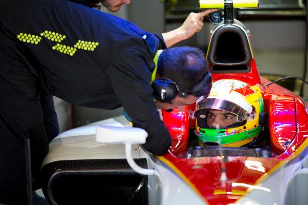 Circuit de Barcelona Catalunya, Barcelona, Spain. Wednesday 15 March 2017. Roberto Merhi (ESP, Campos Racing). Photo: Alastair Staley/FIA Formula 2 ref: Digital Image 585A0093