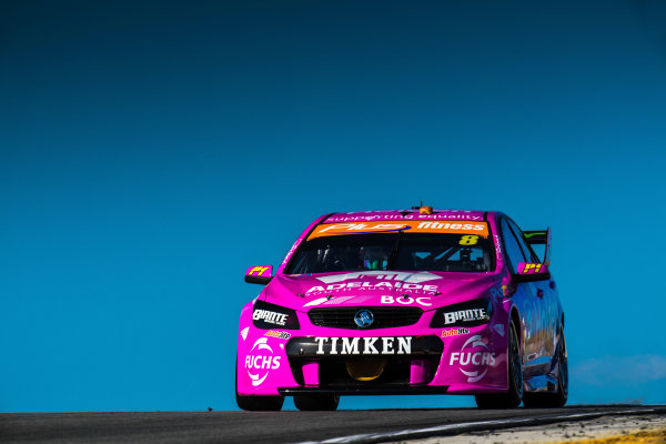 2017 Supercars Championship Round 4.  Perth SuperSprint, Barbagallo Raceway, Western Australia, Australia. Friday May 5th to Sunday May 7th 2017. Nick Percat drives the #8 Team Clipsal Brad Jones Racing Commodore VF. World Copyright: Daniel Kalisz/LAT Images Ref: Digital Image 050517_VASCR4_DKIMG_1535.JPG