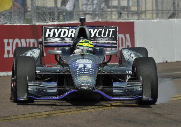 22-24 March, 2013, St Petersburg, Florida USA.#11 Tony Kanaan Hydroxycut KVRT-SR Racing Chevrolet ©2013, Dan R.  LAT Photo USA