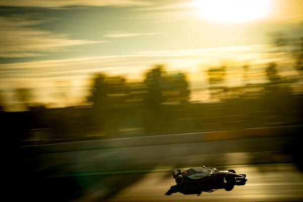 Circuit de Catalunya, Barcelona, Spain. Wednesday 7 March 2018. Sergey Sirotkin, Williams FW41 Mercedes. World Copyright: Glenn Dunbar/LAT Images ref: Digital Image _31I1685