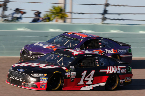 Monster Energy NASCAR Cup Series Ford EcoBoost 400 Homestead-Miami Speedway, Homestead, FL USA Sunday 19 November 2017 Clint Bowyer, Stewart-Haas Racing, Haas Automation Ford Fusion World Copyright: Matthew T. Thacker LAT Images