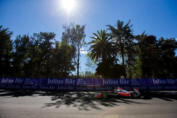2015/2016 FIA Formula E Championship. Mexico City ePrix, Autodromo Hermanos Rodriguez, Mexico City, Mexico. Friday 11 March 2016. Bruno Senna (BRA), Mahindra Racing M2ELECTRO. Photo: Zak Mauger/LAT/Formula E ref: Digital Image _L0U7550