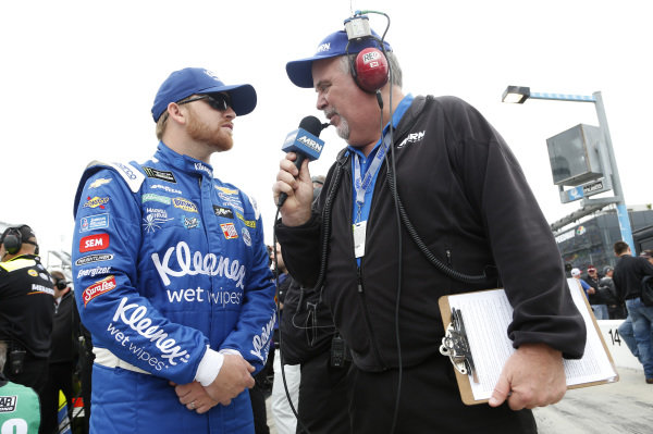#37: Chris Buescher, JTG Daugherty Racing, Chevrolet Camaro Kleenex Wet Wipes