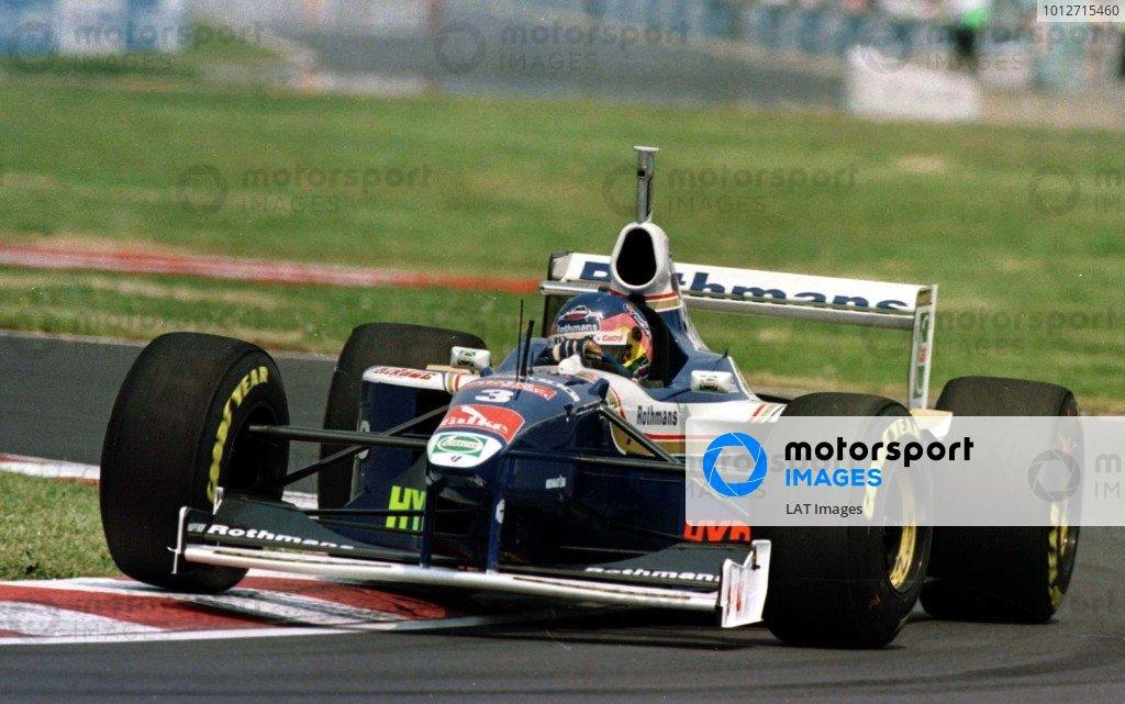 1997 Canadian Grand Prix.Montreal, Quebec, Canada.13-15 June 1997.Jacques Villeneuve (Williams FW19 Renault).World Copyright - LAT Photographic