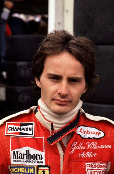 1978 Formula 1 World Championship.Gilles Villeneuve (Ferrari).Ref-V2A 01.World - LAT Photographic