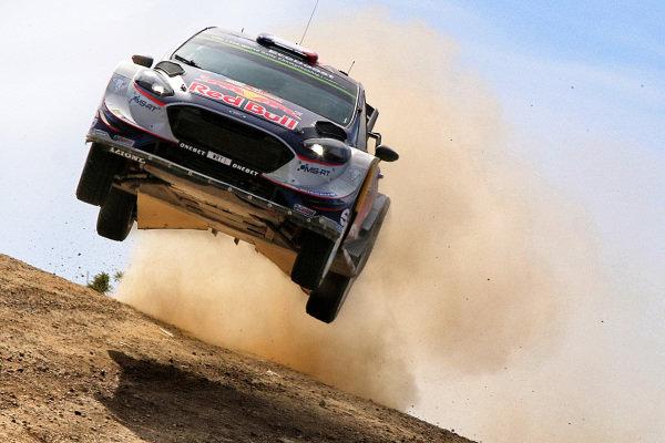 Sebastien Ogier (FRA) / Julien Ingrassia (FRA), M-Sport World Rally Team Ford Fiesta WRC at World Rally Championship, Rd7, Rally Italia Sardegna, Day Two, Sardinia, Italy, 10 June 2017.
