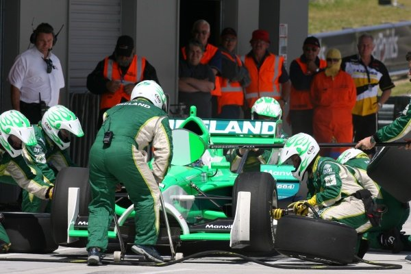21.01.2007 Taupo, New Zealand,  Richard Lyons, Driver of A1Team Ireland - A1GP World Cup of Motorsport 2006/07, Round 6, Taupo, Sunday Race 2 - Copyright A1GP Team Ireland - Copyright free for editorial usage