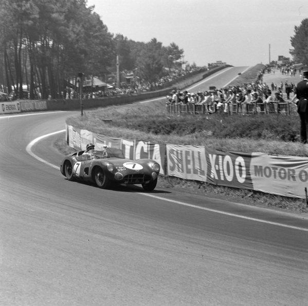 Roy Salvadori / Jim Clark, Border Reivers, Aston Martin DBR1/300.