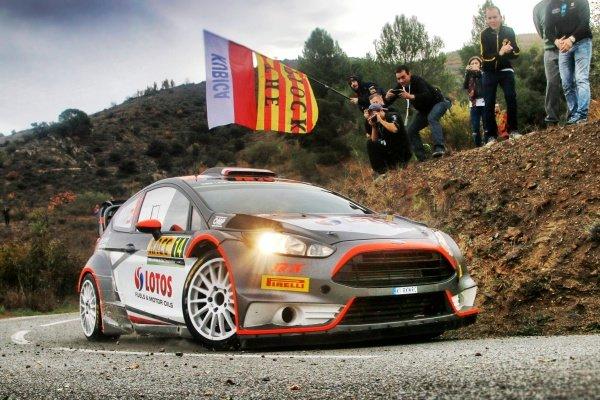 Robert Kubica (POL) / Maciek Szczepaniak (POL) Ford Fiesta RS WRC at FIA World Rally Championship, Rd12, RAAC Rally de Espana, Day Two, Costa Daurada, Catalunya, Spain, 24 October 2015.