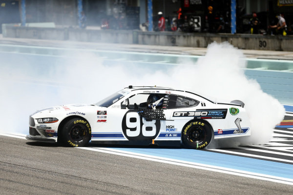 Race winner Chase Briscoe, Stewart-Haas Racing Ford Ford Performance Racing School, Copyright: Michael Reaves/Getty Images.