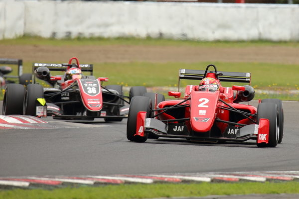 Rd10 Winner Toshiki Oyu, TODA FIGHTEX Dallara F319 Toda