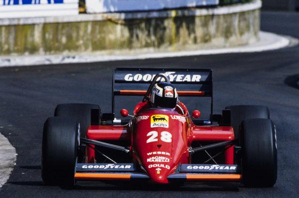 Stefan Johansson, Ferrari 156/85.