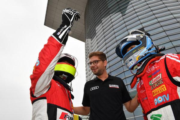 Thong Wei Fung (Shaun) (HK) Audi TEDA Racing Team & Alex Yoong (MAL) Audi R8 LMS Cup at Audi R8 LMS Cup, Rd7 and Rd8, Shanghai, China, 8-10 September 2017.