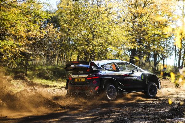 Lorenzo Bertelli (ITA) / Simone Scattolin (ITA), M-Sport World Rally Team Ford Fiesta RS WRC at World Rally Championship, Rd5, Rally Argentina, Day One, Villa Carlos Paz, Cordoba, Argentina, 28 April 2017.