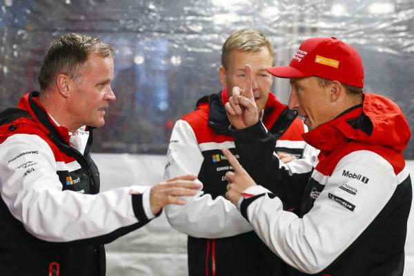 Tommi Makinen, Kris Meeke (GB), Toyota Gazoo Racing WRT, Toyota Yaris WRC 2019