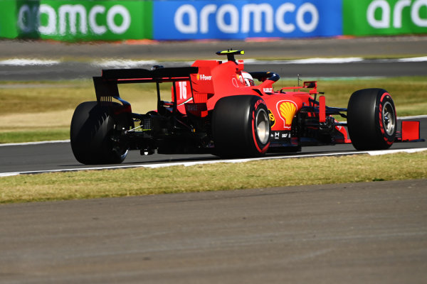 Charles Leclerc, Ferrari SF1000. A light is visible under the car