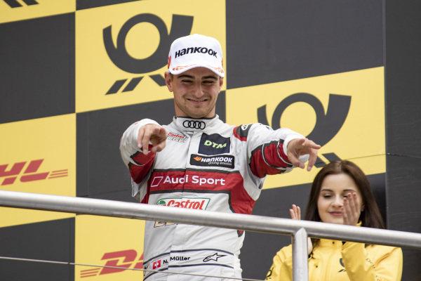 Podium, Nico Müller, Audi Sport Team Abt Sportsline