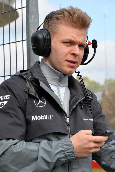 Kevin Magnussen (DEN) McLaren. Formula One Testing, Jerez, Spain, Day Two, Wednesday 29 January 2014.