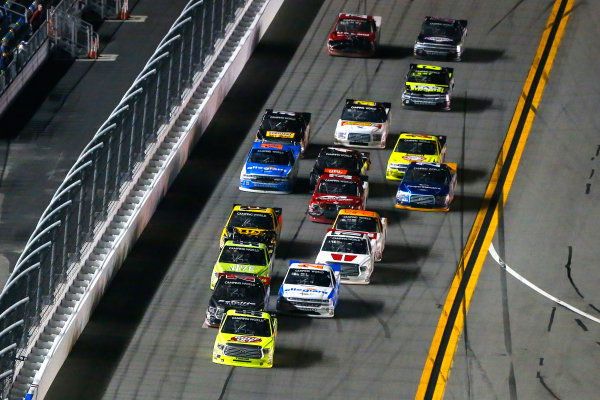 2017 Camping World Truck - NextEra Energy Resources 250 Daytona International Speedway, Daytona Beach, FL USA Friday 24 February 2017 Matt Crafton, Ben Rhodes and Johnny Sauter World Copyright: Russell LaBounty/LAT Images ref: Digital Image 17DAY2rl_04624