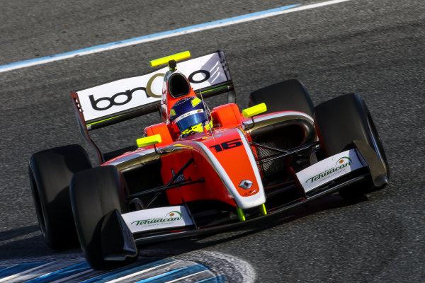 JEREZ (ESP) 28-30 oct 2016, Spanish F4, Euro Formula Open and Formula V8 3.5 2016 at circuito de Jerez. Ton Dillmann #16 AVF. Action. © 2016 Klaas Norg / Dutch Photo Agency / LAT Photographic