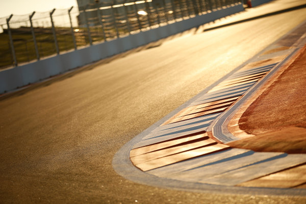 Sochi Autodrom, Sochi, Russia. Thursday 9 October 2014. Kerbs. World Copyright: Glenn Dunbar/LAT Photographic. ref: Digital Image _W2Q9412