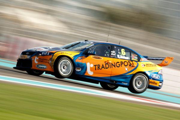 YAS Marina Circuit, Abu Dhabi. 10th -  12h February 2011. Will Davison, (Prodrive Racing (Aust) pty Ltd). Action.  World Copyright: Drew Gibson/LAT Photographicref: Digital Image DG5D7991