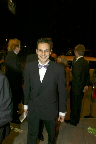 2003 AUTOSPORT AWARDS, The Grosvenor, London. 7th December 2003.Gary Paffett arrives at the Awards.Photo: Peter Spinney/LAT PhotographicRef: Digital Image only