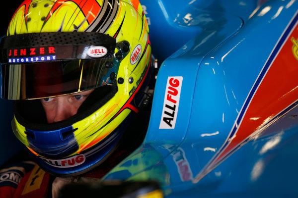 2015 GP3 Series Test 3 - Circuit de Catalunya, Barcelona, Spain. Thursday 23 April 2015. Pal Varhaug (NOR, Jenzer Motorsport)  Photo: Sam Bloxham/GP3 Series Media Service. ref: Digital Image _SBL1745
